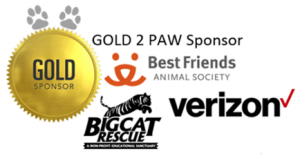 Best Friends, Verizon, Big Cat Rescue - NACA 2019 Gold Sponsors