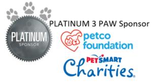 Petco Foundation & PetSmart Charties NACA 2019 Platinum Sponsors